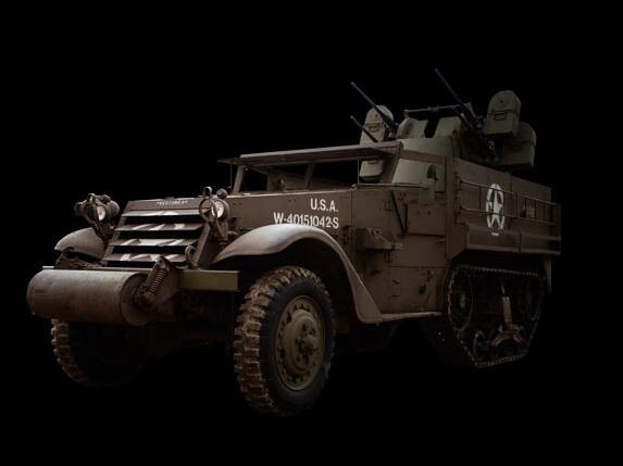 M16 Half-Track & M45 Quadmount