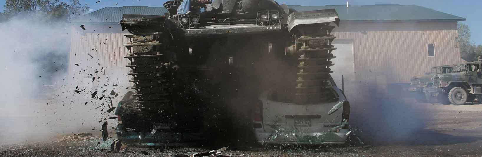 Drive A Tank >> Drive A Tank Tank Driving Car Crushing Machine Gun Shooting